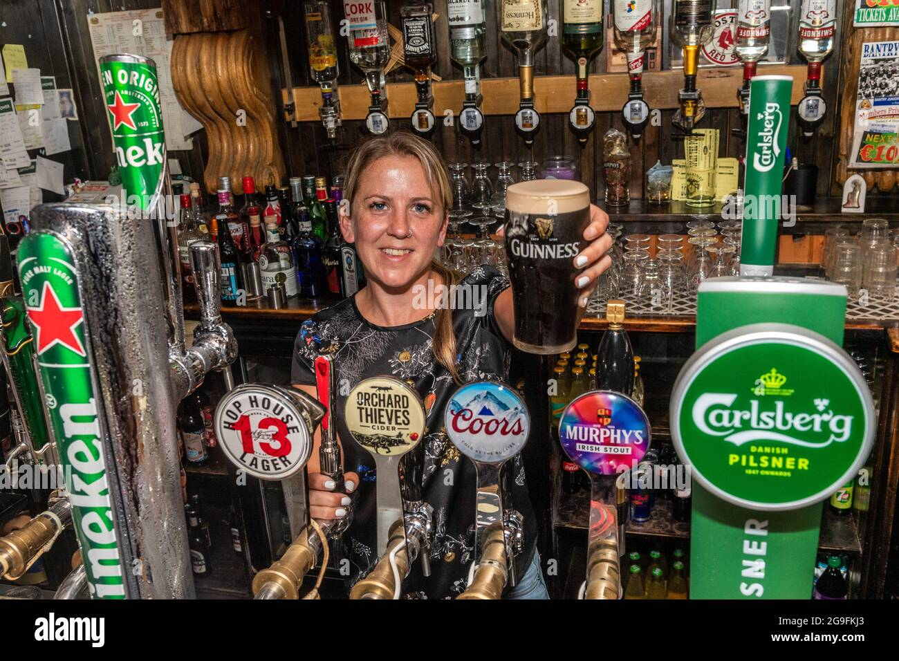 bantry-west-cork-ireland-26th-july-2021-today-the-so-called-wet-pubs-reopened-for-the-first-time-since-the-start-of-the-pandemic-pictured-is-boston-bar-staff-member-helen-martin-credit-ag-newsalamy-live-news-2G9FKJ3.jpg