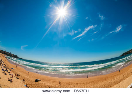 Manly Beach, Sydney, New South Wales, Australia. - Stock Image