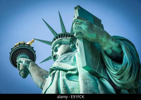 Statue of Liberty, New York - Stock Image