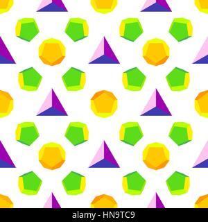 vecteur de solides de platine différentes couleurs fond violet violet jaune orange vert transparente motif isolé - Image Image  t