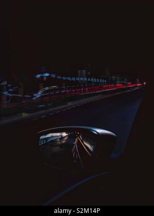 Light trails - Stock Image