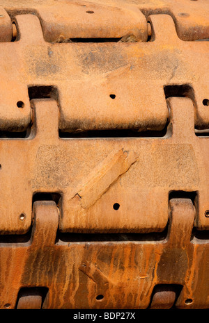 Crawler track - Stock Image