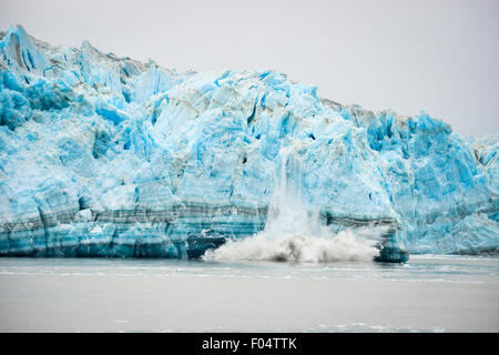 Hubbard Glacier Calving - Natural Phenomenon - Stock Image