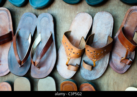 Indian slippers - Stock Image