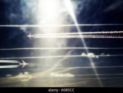 Aeroplanes - Stock Image