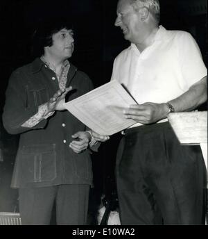 Jun. 10, 1974 - Mr. Heath Becomes Honorary Member of LSO. Conducts Wagner's Die Meistersinger Overture. Mr. - Stock Image