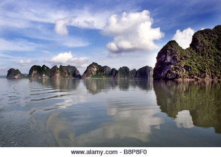 halong bay, vietnam, southeast asia - Stock Image
