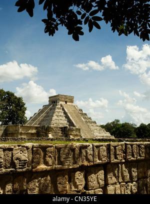 Chichen Itza, Mexico - Stock Image