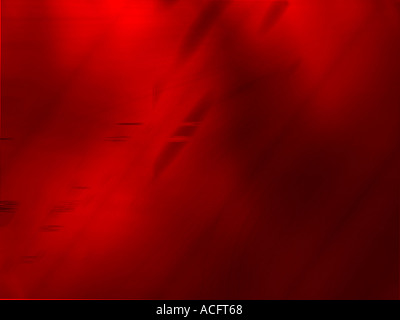 Red computer generated design - Stock Image