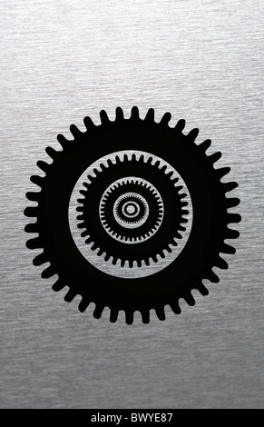 Cog wheels - Stock Image