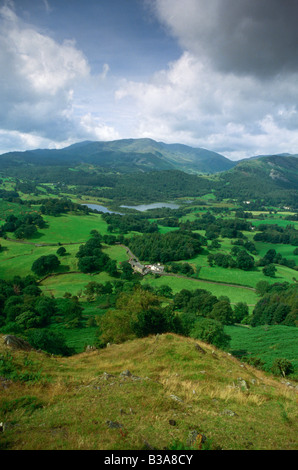 Elter Water, Cumbria (The Lake District), England, UK - Stock Image