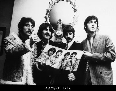 the beatles?george harrison?john lennon?paul mccartney?ringo starr - Stock Image