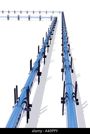 Pipelines - Stock Image