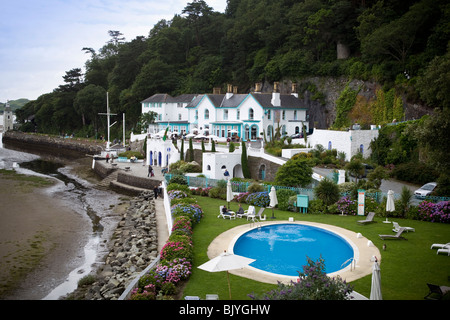 portmeirion village - Stock Image