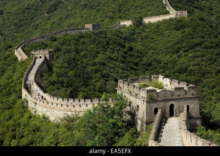 China, Great Wall - Stock Image