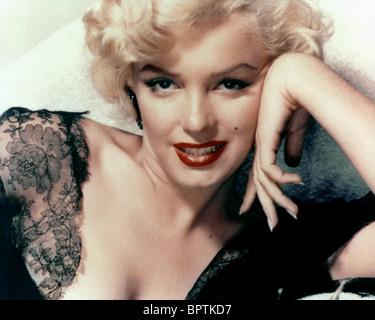 MARILYN MONROE ACTRESS (1957) - Stock Image