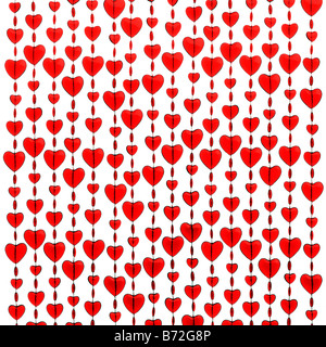 Red hearts - Stock Image