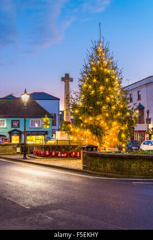 Arundel Christmas Tree - Stock Image