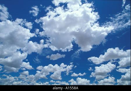 Sky Northern Territories Australia - Stock Image