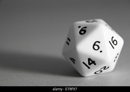 cube d'icosaèdre. - image d'archive