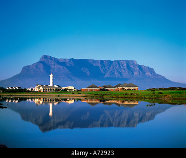 Table Mountain Cape Town Western Cape Province South Africa - Stock Image