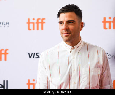 42nd Toronto International Film Festival - 'Who We Are Now' - Premiere  Featuring: Zachary Quinto Where: - Stock Image