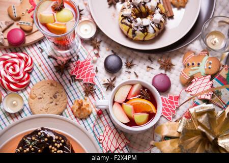 christmas sweets - Stock Image