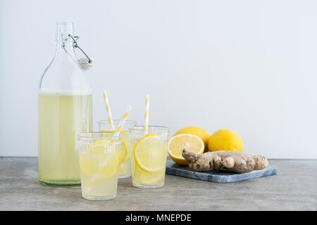Limonade au gingembre citron - Image