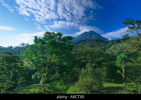 Volcano Arenal Zona Norte Costa Rica - Stock Image