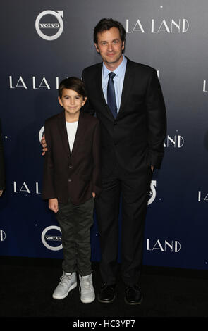 Westwood, California, USA. 06th Dec, 2016. Tom Everett Scott, At Premiere Of Lionsgate's 'La La Land' - Stock Image