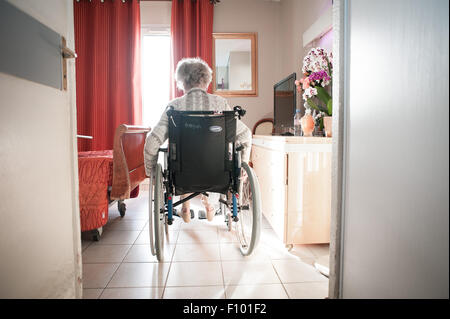 HOME FOR THE AGED - Stock Image