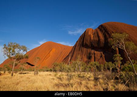 Uluru Kata Tjuta National Park Northern Territory Australia - Stock Image