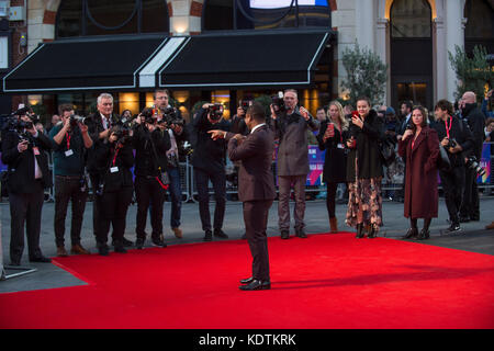 'Mudbound' European Premiere - 61st BFI London Film Festival - Stock Image