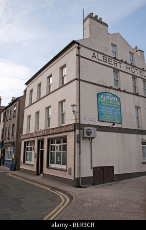 The Albert Hotel, Douglas, île de Man. - Image de l'éditeur