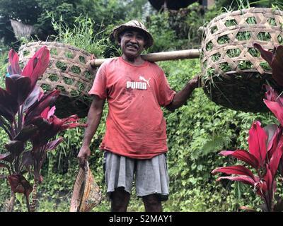 Bali man - Stock Image