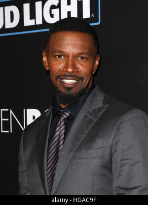 Los Angeles, CA, USA. 05th Jan, 2017. Jamie Foxx, At Premiere Of Open Road Films' 'Sleepless', At Regal - Stock Image