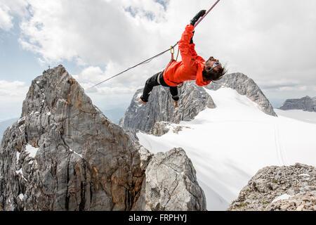 Alpine Highline Project - Stock Image