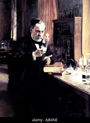 Louis Pasteur 1885  - Stock Image