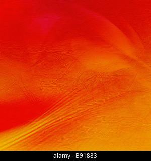 Background. Skin texture in red color - Stock Image