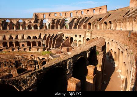 Coloseum ( Colosseo) . Rome - Stock Image