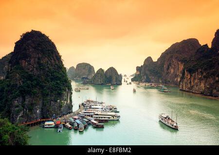 Vietnam, Halong Bay - Stock Image