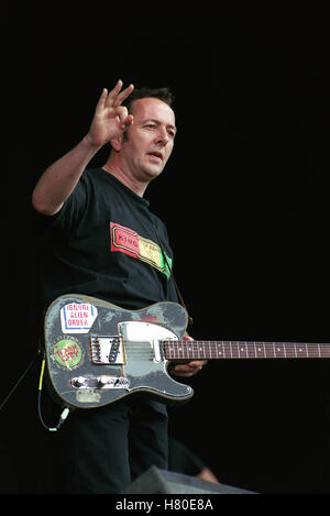 JOE STRUMMER  11 July 1999 - Stock Image