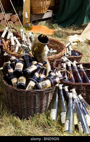 Boissons alcoolisées lors d'un festival à Tewksbury - Image
