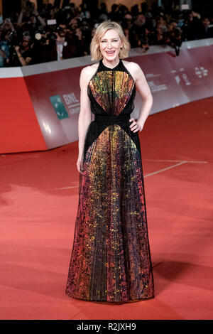 13th Rome Film Fest - The House With A Clock In Its Walls - Premiere  Featuring: Cate Blanchett Where: Rome, Lazio, Italy When: 19 Oct 2018 Credit: WENN.com - Stock Image