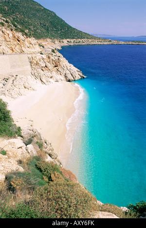 Kaputas beach, Lycia, Anatolia, Turkey, Asia Minor, Asia - Stock Image