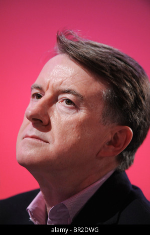 Lord Peter Mandelson attends the Labour Party Conference 2009 at Brighton, 27th September 2009. - Stock Image