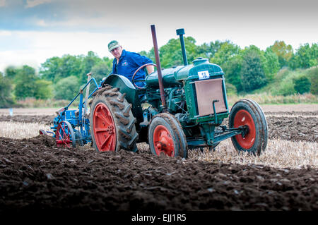 Cheshire Ploughing Match 2014 - Stock Image