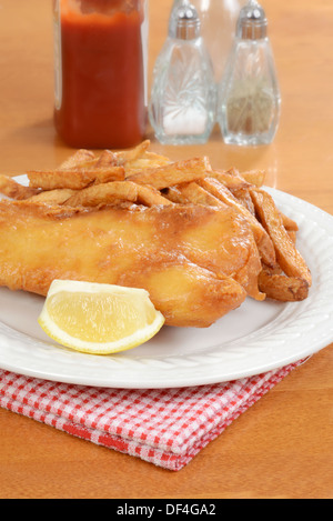 poisson et frites - Image