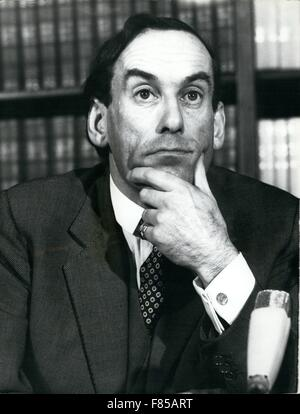 1968 - A study of Mr. Jeremy Thorpe © Keystone Pictures USA/ZUMAPRESS.com/Alamy Live News - Stock Image