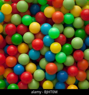 Colorful balls - Stock Image